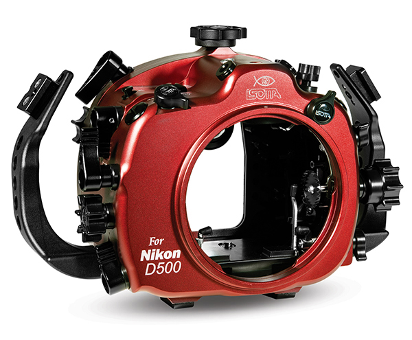 Nikon D500 in ISOTTA Housing